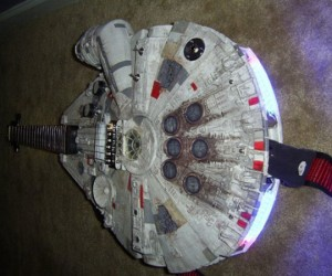 The Millennium Falcon Guitar: Not Quite Ready for the Kessel Run