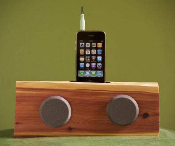 Handmade Wooden iPhone/iPod Dock