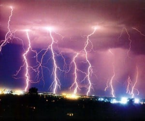 Slow Motion Lightning Strikes: Shocking.