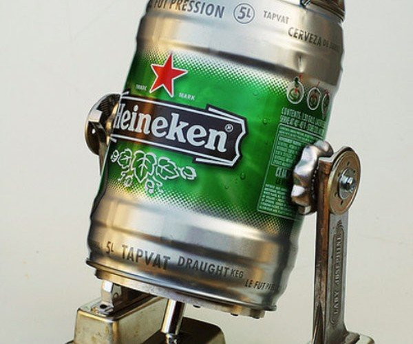 Lockwasher Robot Sculptures Whirr Their Way Into Our Hearts