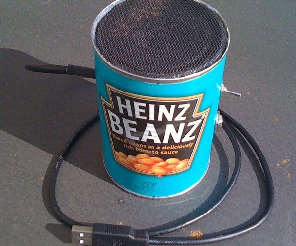 Heinz Can of Beans Amplifer: Musical Fruit