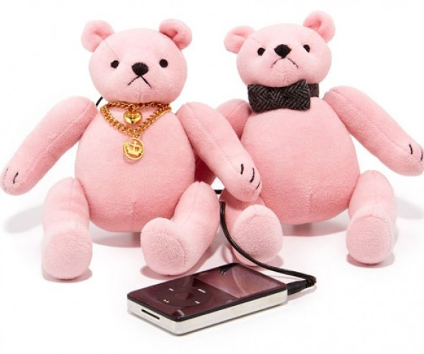 Juicy Couture Bear Speakers Are Sadly Appealing to the Women in My Household