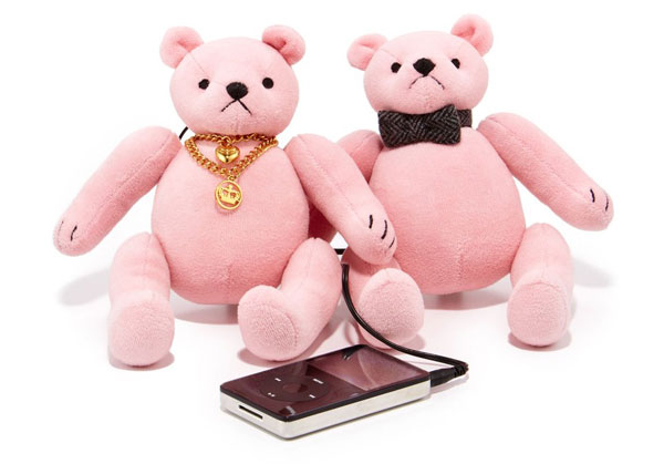 Pink Bear Speakers