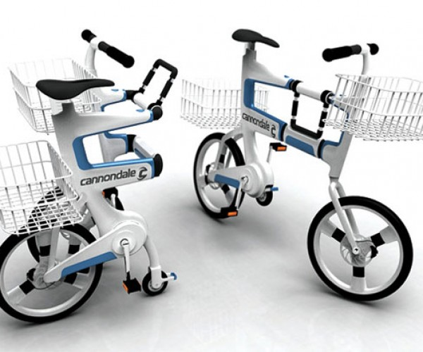 Massively Geeky Concept Bike Will Get You Laughed at