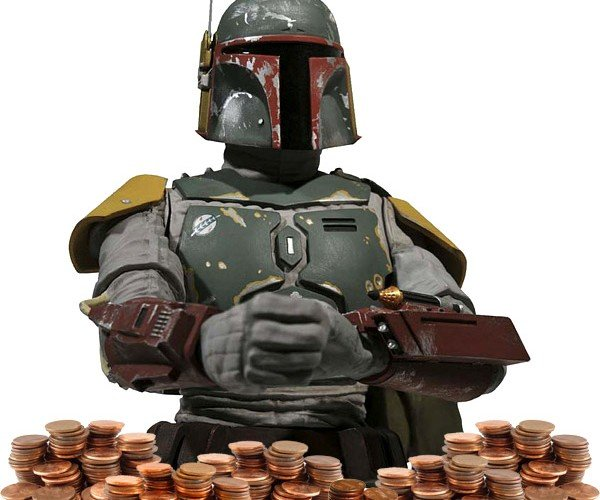 Boba Fett Guards Your Money
