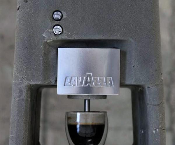 Concrete Espresso Maker Cements Your Love for Caffeine