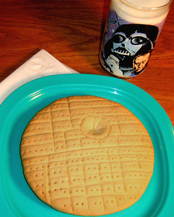 death star cookie