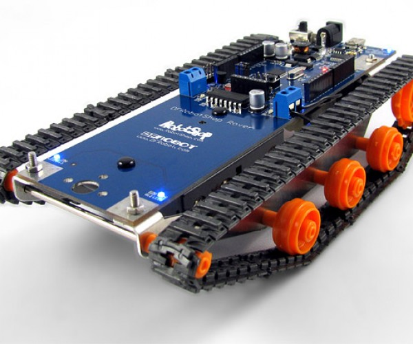 Dfrobotshop Rover: Programmable Tank Robot on a Budget