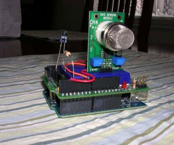 DIY Remote Control Changes Channels When You Fart