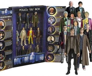 Doctor Who 11 Doctors Action Figure Box Set: Tardis Not Included