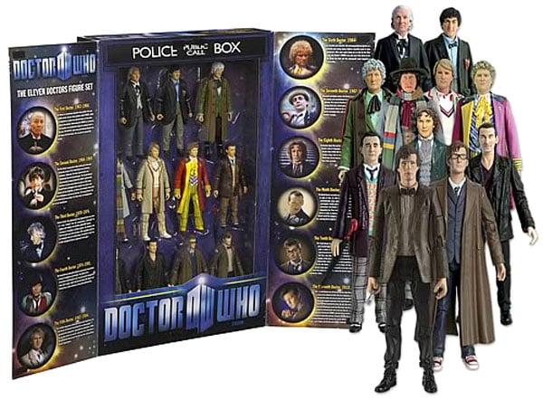 doctor who eleven doctors action figures