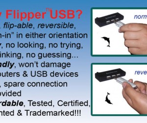Flipper USB Connector is Pure Frickin' Genius