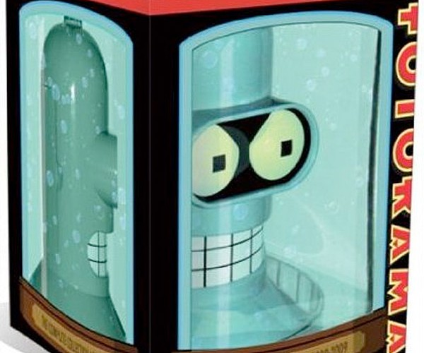 Futurama Complete DVD Collection Comes in a Bender Head