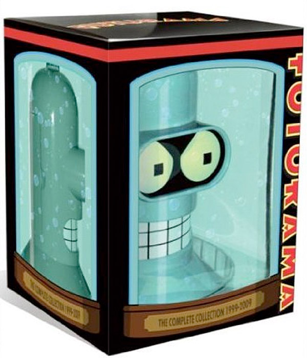 futurama_bender_dvd_collection