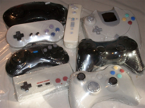 game controller soap set