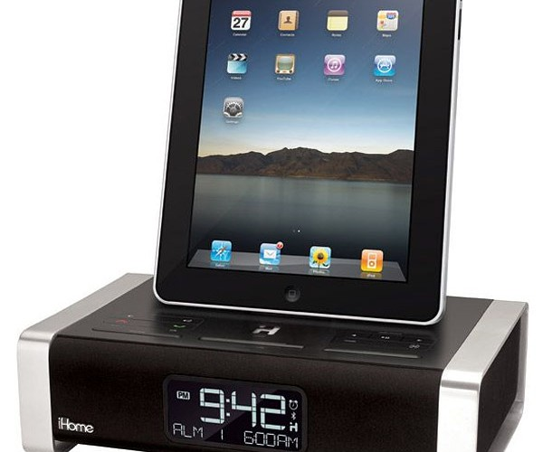 Ihome iPad Dock Alarm Clock Seems Like Overkill