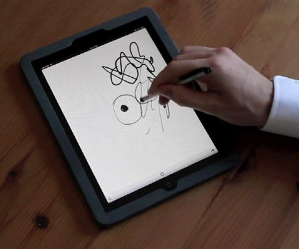 Pressure Sensitive Drawing on iPad a Possibility