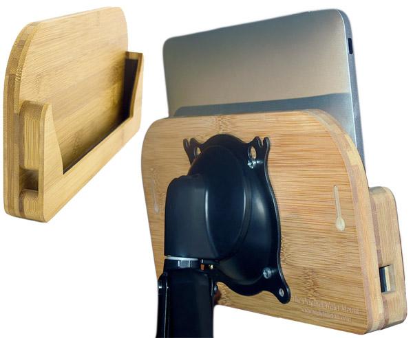 ipad walet mount bamboo 3