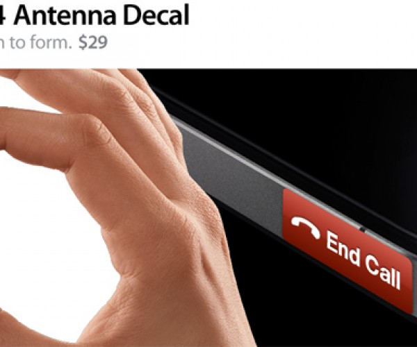 iPhone 4 Antenna Decal: It's Not a Bug, It's a Feature