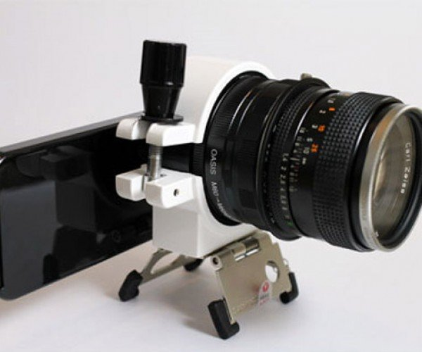 IPhone 4 + Dslr Lens = Craziest Camera of the Day