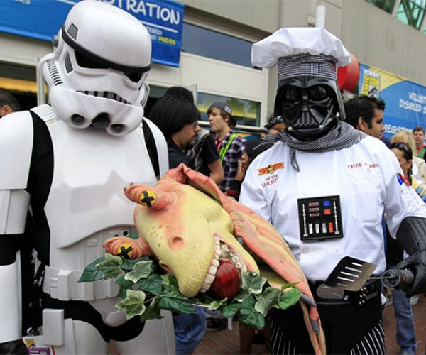 Pic of the Day: Chef Vader Cooks Jar-Jar