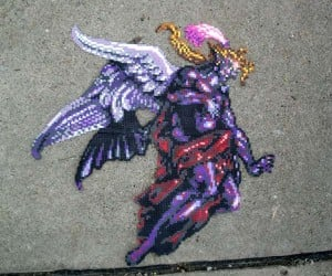 Kefka Perler Bead Mosaic: Epic Craft for an Epic Villain