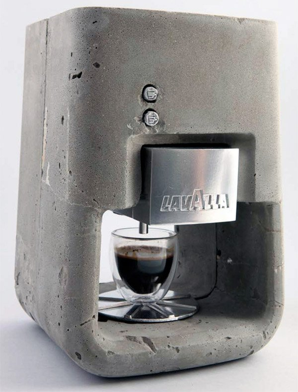 lavazza concrete espresso machine