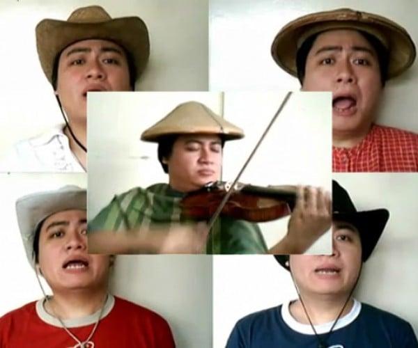 Legend of Zelda a Capella and a Violin-a