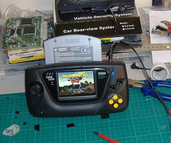 N Gear 64: the Unholy Offspring of Nintendo 64 and Sega Game Gear