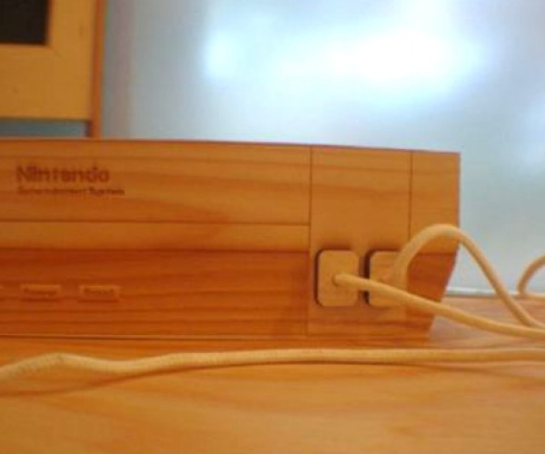 nintendo wooden sculpture 2
