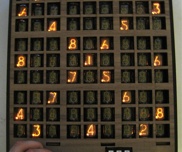 Nixie Sudoku: Fun With Gas-Filled Tubes