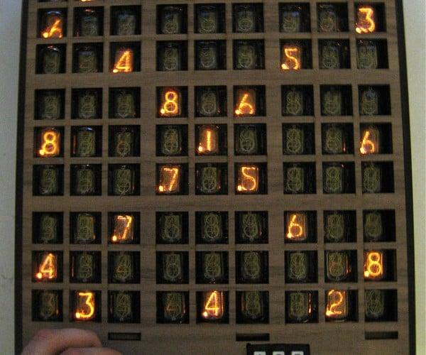 Nixie Sudoku: Fun With Gas-Filled Tubes