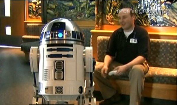 r2d2 replica with creator