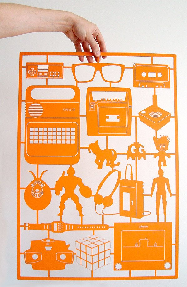 retro_orange_paper_cut
