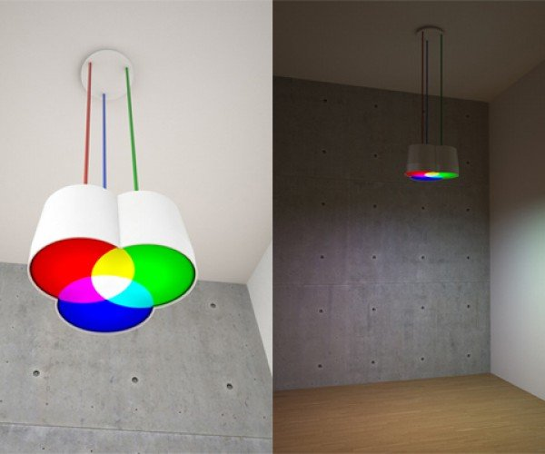Rgb Light: Because a Cmyk Light Would be Too Gloomy