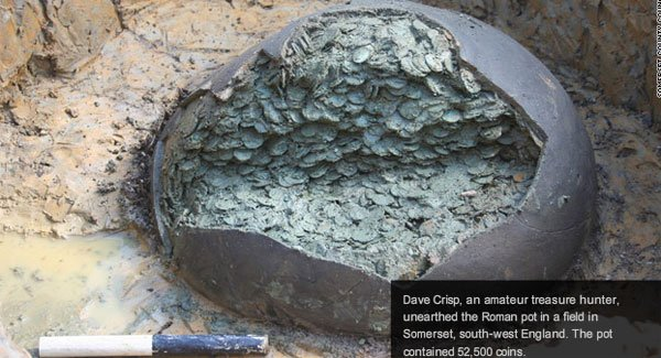 Metal Detector Wielding Brit Finds 1 Million In Roman