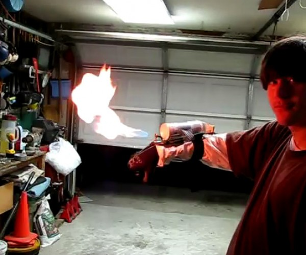 Wrist Flamethrower is an Accident Waiting to Happen, but We Still Love It