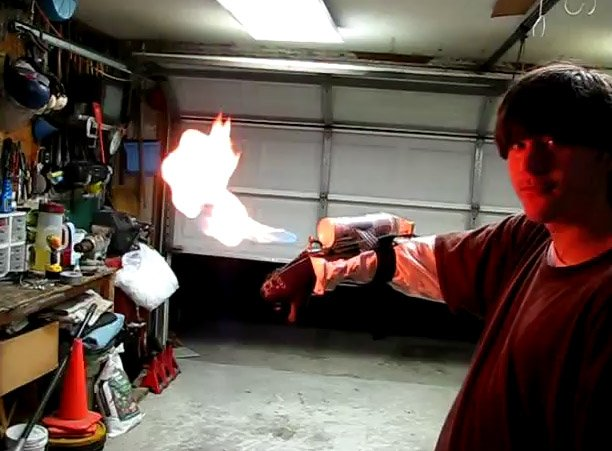 shockslayer wrist flamethrower