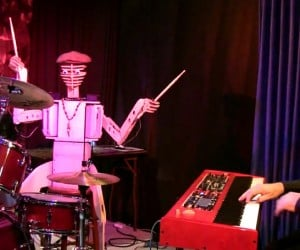 Spruce Deuce, the Robot Drummer Percusses His Way Into Our Hearts