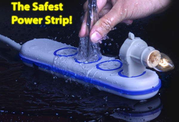 wet circuits power strip