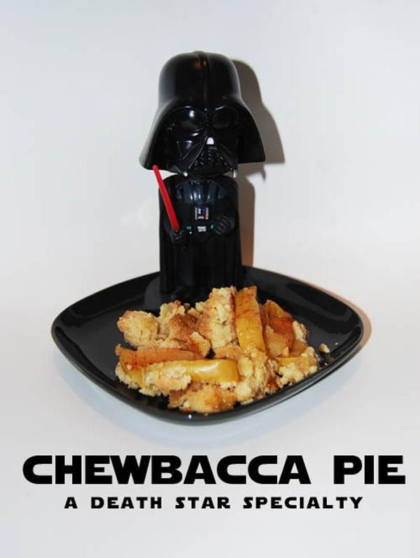 Darth Vader Likes Chewbacca Pie - Technabob