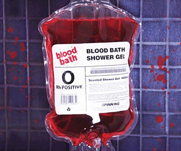 Blood Bath Shower Gel: True Blood at Home