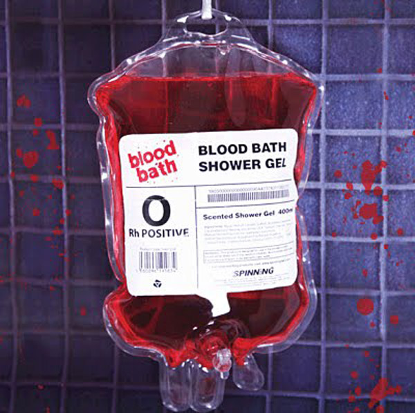 blood bath shower gel true blood vampires bag