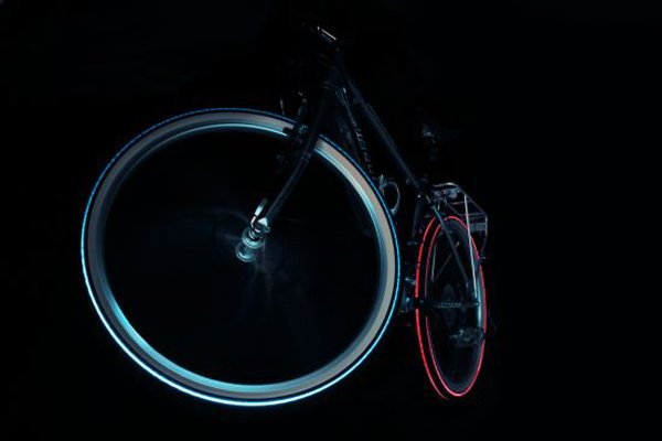 tron lightcycles tires cyglos night led bicycle