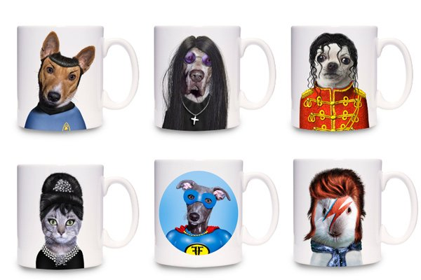 dog cup mug creepy takkoda mr. spock
