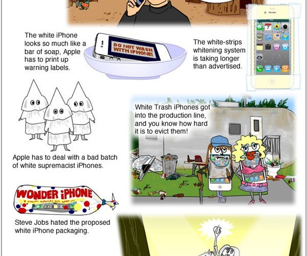 The Real Reason the White iPhone 4 is Delayed: Underpants Gnomes?