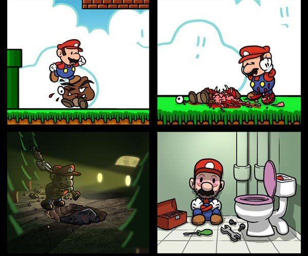 Super Mario: Mushroom Killing Takes Its Toll