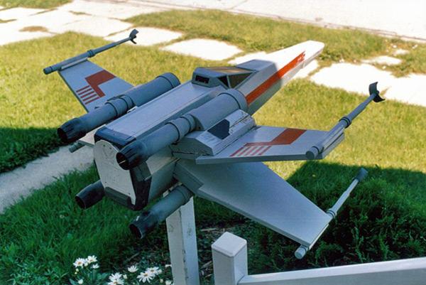 x-wing star wars craig smith mailbox