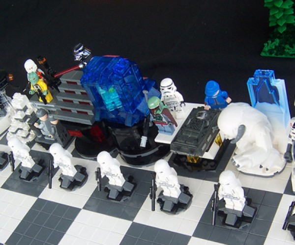 LEGO Empire Strikes Back Chess Set: Lego+star Wars, Who Could Ask for Anything More?