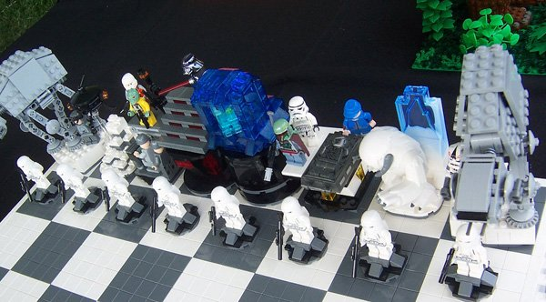 star wars empire strikes back chess lego